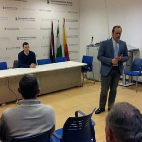 Ciudadanos Málaga inicia una ronda de encuentros con los vecinos para hablar de la limpieza de Málaga