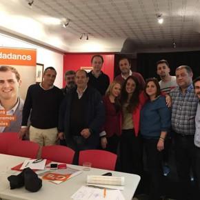 El Grupo Municipal de Fuengirola se reúne con su Agrupación
