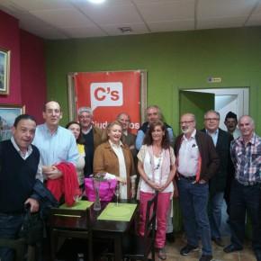 La Agrupación Málaga Centro celebra su primer Café Ciudadano