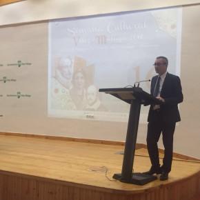 José Antonio Moreno acude a los actos de la Guardia Real y del aniversario de Cervantes