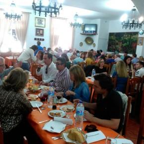Éxito rotundo de las 'migas ciudadanas' organizadas por la Agrupación Norte