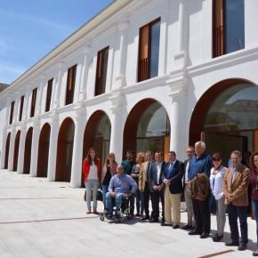 José Antonio Moreno Ocón en la entrega de llaves del Edificio El Pósito al Ayuntamiento por parte de la Junta de Andalucía