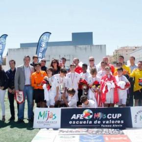 El Sevilla se lleva la AFE Mijas Cup. Éxito de participación y alto nivel deportivo