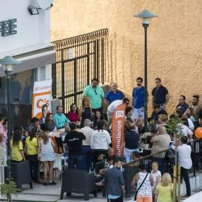 Los candidatos al Congreso y Senado acercan las propuestas de Ciudadanos a Nueva Málaga