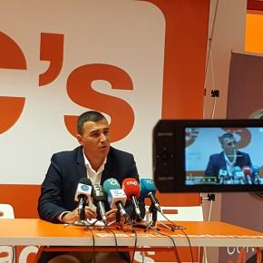 """Carlos Hernández: """"La inauguración del Hospital del Guadalhorce es un claro ejemplo de la utilidad de C´s para la ciudadanía"""""""