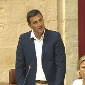 """Hernández: """"No avanzar en el Puerto Seco de Antequera es no apostar por los puertos de Andalucía"""""""