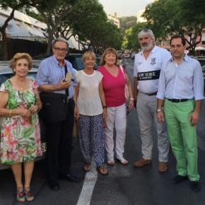 Ciudadanos Marbella apoya a vecinos y comerciantes de Molino de Viento en sus reivindicaciones contra la reordenación del tráfico en Camilo José Cela