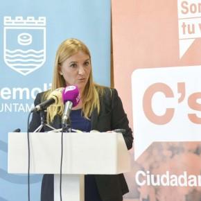 Ciudadanos va a seguir trabajando por la estabilidad política en el Ayuntamiento de Torremolinos