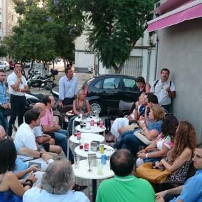 Educación y sanidad, entre los temas abordados en el café ciudadano de Málaga Norte