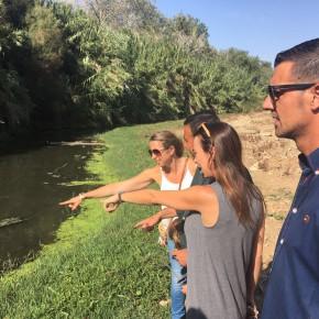 Ciudadanos Cártama critica la pasividad del equipo de Gobierno de la localidad ante el vertedero en el que se ha convertido el río Guadalhorce