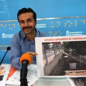Aprobada por unanimidad la moción de Ciudadanos Fuengirola para hacer accesibles los apeaderos de Carvajal y Torreblanca