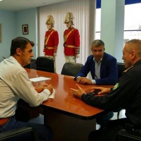 Ciudadanos Marbella le traslada al nuevo jefe de Policía Local la necesidad de que haya mayor presencia de agentes en las calles
