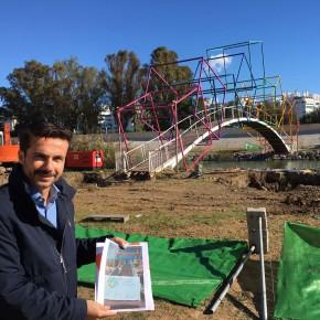 Ciudadanos Fuengirola denuncia los errores del PP sobre el Puente de Colores del Parque Fluvial y el nuevo gasto que supone