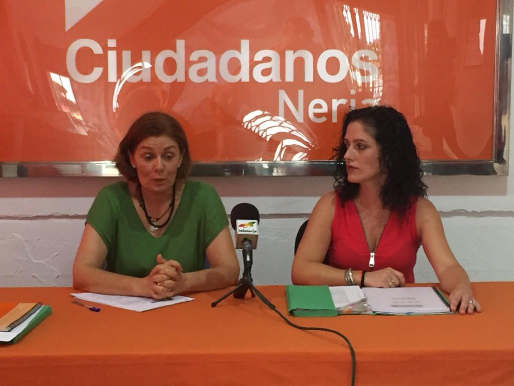 Concejalas Ciudadanos Nerja Lola Sánchez Mari Carmen López