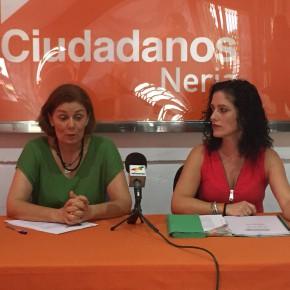 Ciudadanos exige al Ayuntamiento de Nerja que aclare si ha habido irregularidades en la contratación de los espectáculos musicales de la pasada Feria