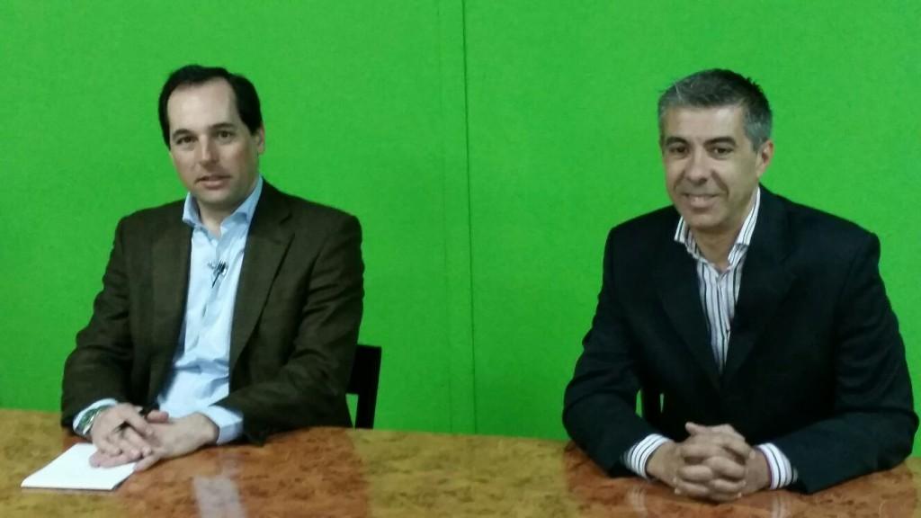 Francisco Gómez Palma y Miguel Ángel Hijano Marbella