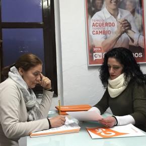 Lola Sánchez destaca la constancia de Ciudadanos para que los vecinos conozcan a fondo los motivos del retraso de la depuradora de Nerja