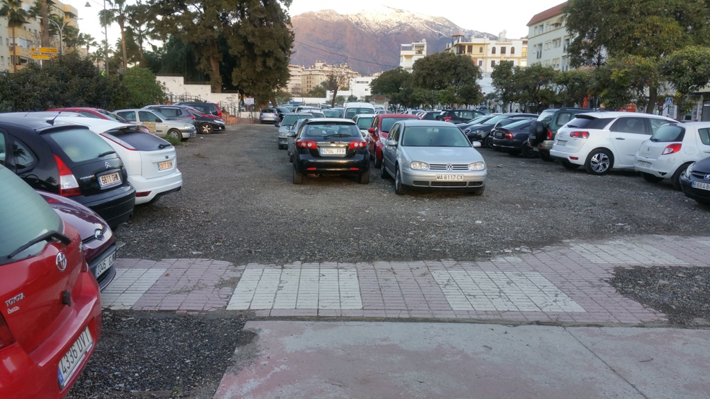 Parking parcela Gran Bulevar Estepona
