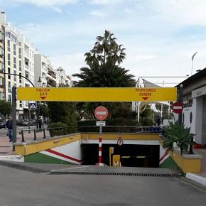 Ciudadanos Estepona exige al Ayuntamiento que se mejore la accesibilidad del parking del paseo marítimo