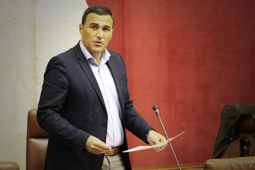 Carlos Hernandez Parlamento Andalucía febrero 2017