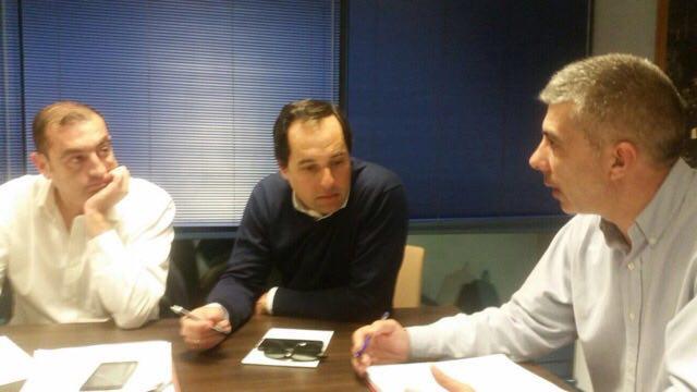 Junta directiva Marbella Miguel Ángel Hijano y Francisco Gómez