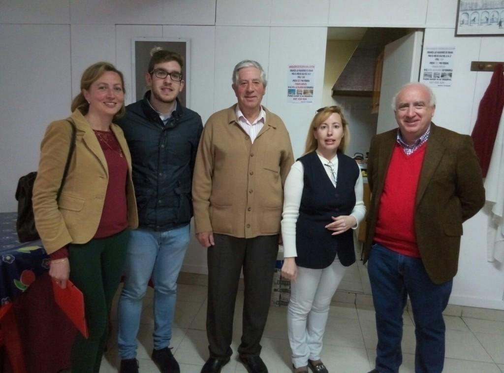 Ciudadanos Antequera reunión vecinos Andalucía-Zona Centro