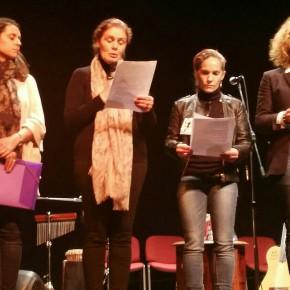 Ciudadanos participa en el Día Internacional de la Mujer con la lectura de un fragmento a cargo de la portavoz Lola Sánchez