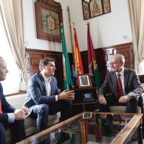 Albert Rivera pone a Málaga como ejemplo de diálogo institucional y de políticas naranjas de avance y modernidad