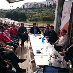 Guillermo Díaz destaca en Benalmádena la apuesta de Ciudadanos en los PGE por la clase media y la innovación