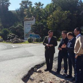 Ciudadanos insiste en el Congreso para que se mejore el acceso a Arroyo de la Miel desde la A-7 y critica la lentitud del Gobierno