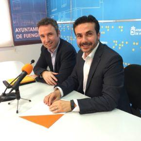 Guillermo Díaz visita Fuengirola y se compromete a elevar las necesidades de los fuengiroleños al Congreso