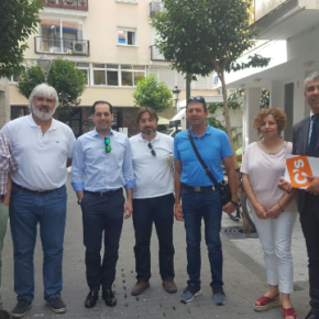 Ciudadanos Marbella se reúne con la cooperativa Huerta del Peñón y exige la cesión municipal del Centro Ambiental
