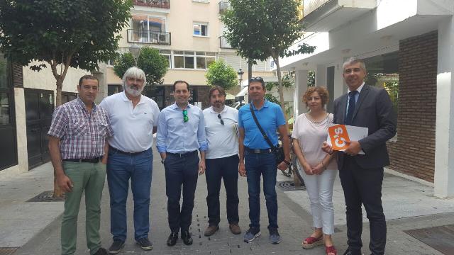 Ciudadanos marbella se re ne con la cooperativa huerta del - Punto limpio marbella ...
