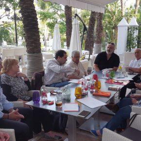 Ciudadanos se reúne con la Plataforma Espigones Transitables para Marbella y estudia sus propuestas