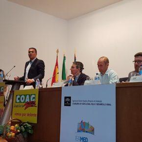 Carlos Hernández reivindica el papel clave de la agricultura y la ganadería en la estructura productiva de Andalucía