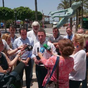 Ciudadanos defiende en el Congreso que el Gobierno aplique  soluciones definitivas para proteger el litoral de Marbella