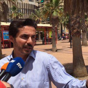 Ciudadanos Fuengirola exige al Ayuntamiento que adecente de los alrededores de la plaza Teresa Zabell
