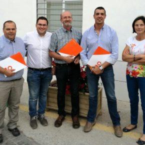 Alcaucín renueva junta directiva con el objetivo de poner en valor el trabajo de Ciudadanos y preparar su expansión en la comarca