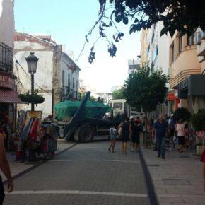 Ciudadanos critica la falta de organización en el Ayuntamiento de Estepona por hacer que coincidan varias obras a la vez en plena temporada alta turística