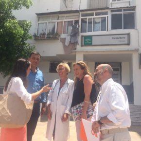 """Carlos Hernández critica las condiciones """"indignas"""" del centro de salud de Cártama y urge a la Junta a que acometa su traslado"""