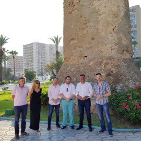 Ciudadanos exige la puesta en valor de las torres vigía de Benalmádena para que tengan un uso turístico