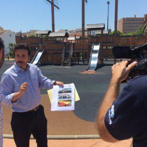 Ciudadanos Fuengirola propone la instalación de toldos en los parques infantiles para combatir el calor