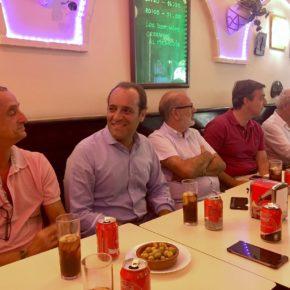 El café ciudadano de Málaga Noroeste expone los logros de Cs en el Ayuntamiento