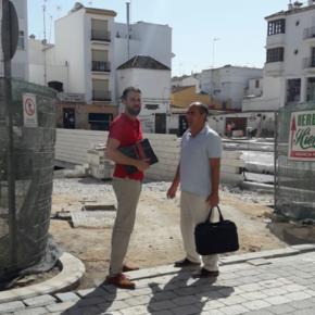 Ciudadanos Estepona critica la negligencia del equipo de gobierno en la remodelación de la plaza Antonia Guerrero