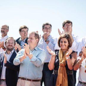 Juan Marín lidera la representación andaluza en el acto de Ciudadanos 'Caminemos Juntos' por la unión y la convivencia de todos
