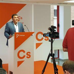 Carlos Hernández destaca la supresión del impuesto de sucesiones y el aumento de inversiones como los hitos naranjas de los presupuestos andaluces en Málaga