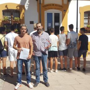 Ciudadanos denuncia que el estado del parque de calistenia en San Pedro pone en peligro la integridad física de sus usuarios