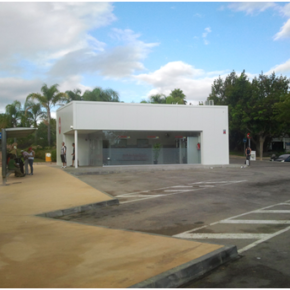 Ciudadanos Estepona pide la creación de una estación de autobuses definitiva ante la provisionalidad de la actual