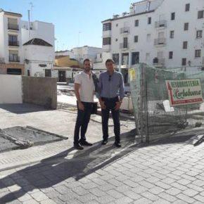 Ciudadanos Estepona reclama al Ayuntamiento que termine las obras de la plaza Antonia Guerrero antes del periodo navideño Navidades