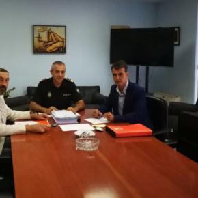Ciudadanos Marbella muestra su apoyo a las fuerzas de seguridad del municipio